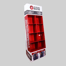 Cardboard Book Display Stands China New Cardboard Book Display Stand with Pockets 39