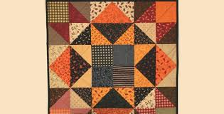 easy autumn wall quilt quilting digest