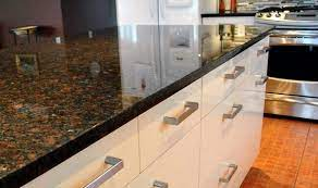 The primary color in this granite is brown; Coffee Brown Granite Countertops A Variety Of Hues To Choose From