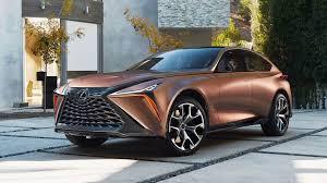 Lexus представляет новый концепт роскошного флагманского ...