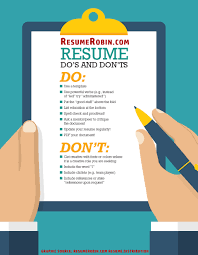 Resume Don Ts Resume Do's And Don'ts Imgur 12