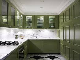 Green And White Kitchen Vintage Green Kitchen Cabinets For Beautiful House Island