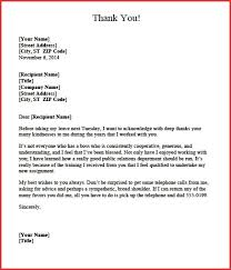 Fresh Appreciation Letter Boss Excuse Letter
