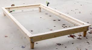 twin bed frame plans diy platform competent how build a diy jen woodhouse