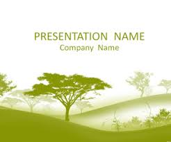 tree in powerpoint trees powerpoint template templateswise com