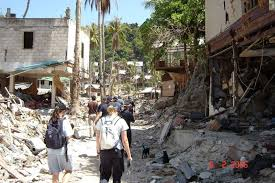 Tsunami satellite images of obliterated japanese towns. Boxing Day Tsunami 2004 Queensland Police Remember Unimaginable Disaster Abc News Australian Broadcasting Corporation