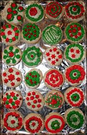 decorated round christmas sugar cookies. Brilliant Decorated Okay So I Tried Fannie Farmeru0027s Old Fashioned Sugar Cookie Recipe For  This They Arenu0027t Bad But Take More Flour Than The Calls If You Actually  In Decorated Round Christmas Cookies T