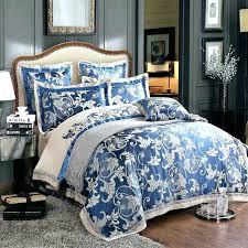 royal blue comforter full size black and set elegant bed