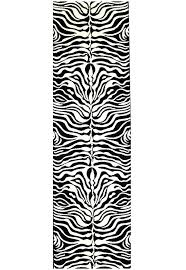 black and white runner rug icon stunning zebra pattern runner rug black off white est rugs black and white runner rug