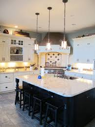 Decorations:Awesome Kitchen Design With L Shape White Kitchen Cabinet And  Corner Black Kitchen Stove
