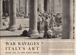 life and times a look back on the destruction of italian cultural  life and times a look back on the destruction of italian cultural heritage in wwii arcablog