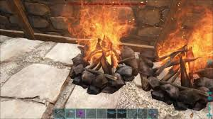 Ark Ps4 How To Light Campfire How To Use The Campfire For Meat Cooking Ark Ragnarok