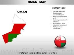 Country Powerpoint Maps Oman Powerpoint Diagram