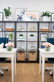 shelves office. How To Style Your Office Shelves E