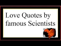 Science Love Quotes