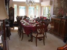 Solid Mahogany Dining Room Set For Sale  Antiques Antique Dining Room  Set For Sale For
