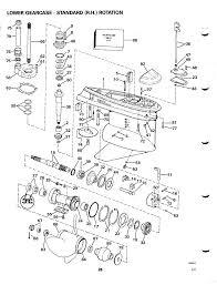 Omc Stern Drive Propeller Chart Bayliner Owners Club Omc Cobra Stern Drive Tech Info Part