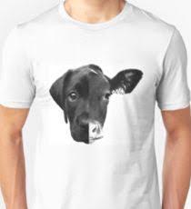 speciesism cow dog split face uni t shirt