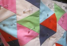 Quilting for Beginners - Sew Delicious & Once you have it how you like it start pinning through all layers of the  quilt with safety pins. These serve to hold all layers of the quilt  together until ... Adamdwight.com
