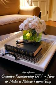 19 create a coffee table tray