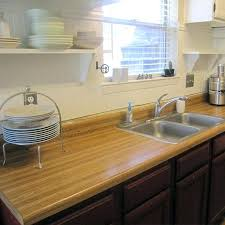 making your own countertop use wood planks to make your own genuine wood and add true