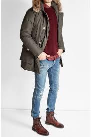 Woolrich Arctic Down Parka with Fur-Trimmed Hood grey men,woolrich jacket  bloomingdales,timeless design