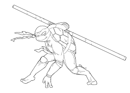 Small Picture Ninja Turtles Coloring Pages Donatello High Quality Coloring