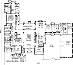 8000 square foot house floor glamorous cool house plans