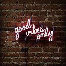 Good Vibes Light Up Sign