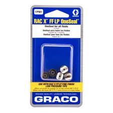 17p501 Graco Rac X Fflp One Seal Airless Tip Seals