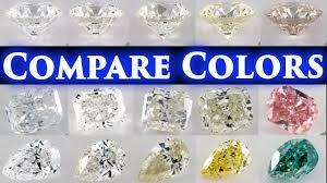 Diamond Color Chart Diamond Color Comparison Shade Grade Chart D Vs E F G H I J K L Difference Engagement Ring