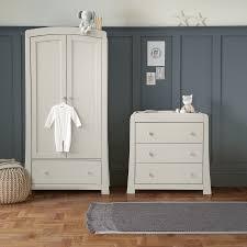 Mamas And Papas Bedroom Furniture Mamas Papas Mia 3 Piece Cotbed Set Pebble Grey