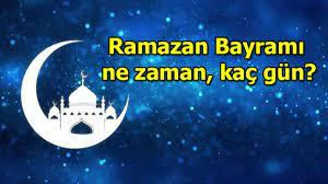 Ramazan ne zaman başlıyor 2021? Ramazan Bayramı 2021 ne zaman? – Cine5