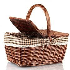 Lovely Natural Rattan Basket for Blankets : Stunning Wicker Basket ...