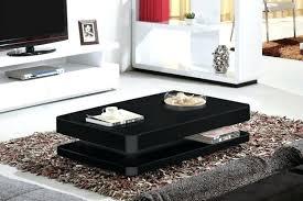 high gloss coffee tables black table