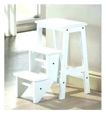 ikea wooden step stool kids ladder folding bekvam