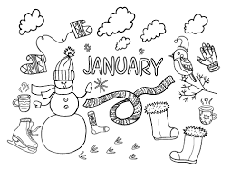 35+ january coloring pages for printing and coloring. Pin On Coloring Pages At Coloringcafe Com