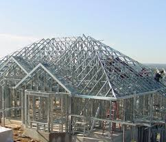 Steel Built Homes Steel Building Home Construction With Unique Roof Metal Building