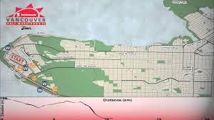 Toronto Waterfront Marathon Elevation Chart Scotiabank Vancouver Half Marathon 2013 Route Map