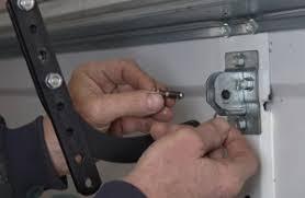 garage door bracketLow Headroom Modification for Steel Doors