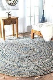 gray brown cream rug wool black area round rugs braided denim jute floor mat handmade