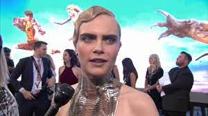 Valerian World Premiere Grauman's Chinese Theatre Cara Delevingne Interview  (official video) - YouTube