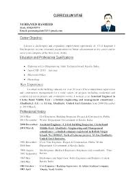 Example Of A Objective For A Resumes Example Of An Objective On A Resume
