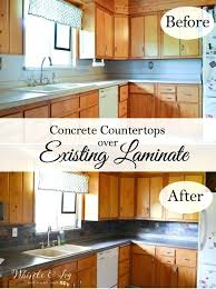 how to make your own concrete countertops