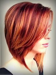Natural Red Hair With Blonde Highlights