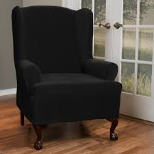 living room chair covers. Furniture: Revive Your Room Interior Using Chic Wingback Chair Covers \u2014 Www.brahlersstop.com Living