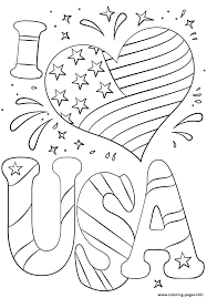 First you'll need to have javascript enabled. Print I Love Usa 4th July Coloring Pages Memorial Day Coloring Pages Flag Coloring Pages Printable Coloring Pages