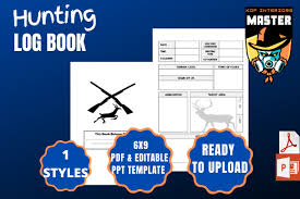 Your post will be removed and you'll have to resubmit with a different title, so try using a simple title that's low on spoilers. 2 Deer Hunting Log Book Designs Graphics