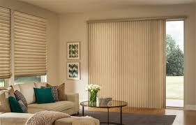 vertical blinds and matching roman shades blind shades sliding glass