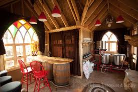 treehouse masters brewery. The Tap Pull Has A Special Hand Crafted Wooden Tree House Atop It: Treehouse Masters Brewery E